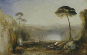 J.M.W.ターナー『金枝』(1834年 テイト、ロンドン) (c) Tate, London 2013