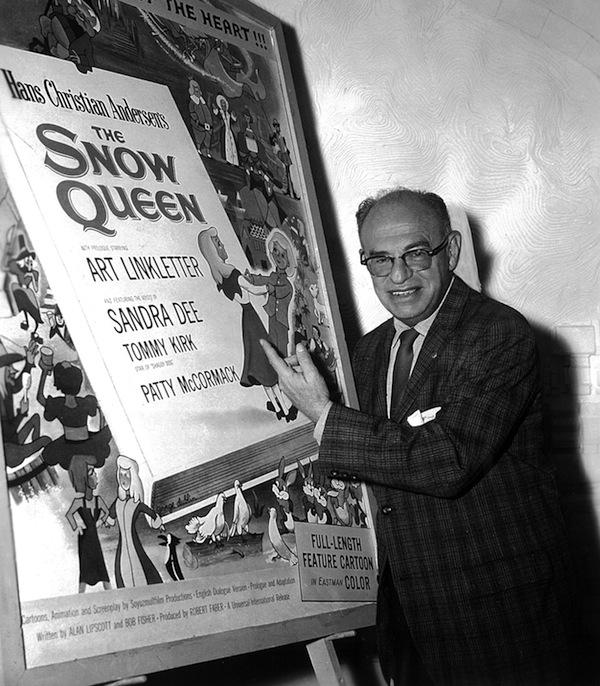 英語版『雪の女王』を手がけたデイブ・フライシャー(1960年)釘宮陽一郎氏提供