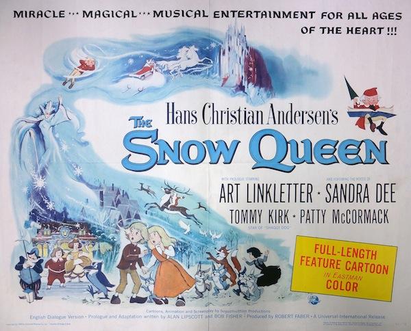英語版『雪の女王』ポスター、釘宮陽一郎氏提供