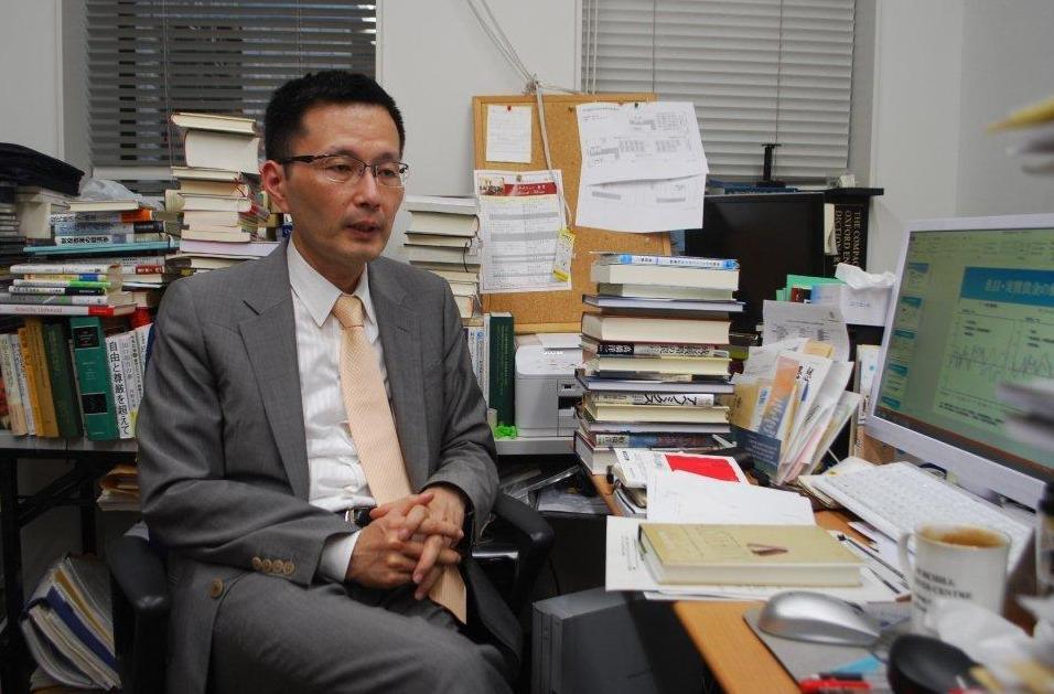 早稲田大政治経済学術院の若田部昌澄教授