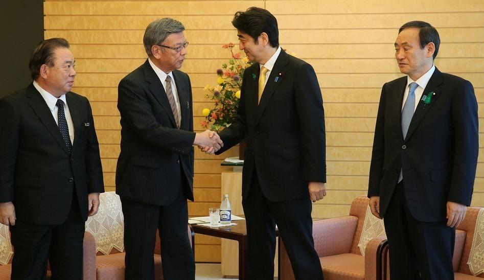 安倍政権対沖縄、戦後最大の中央―地方紛争
