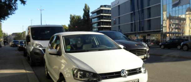 VWの排ガス不正は、ドイツの多くのドライバーを驚かせた(写真に写っている車両は今回の不正事件とは直接関係ありません)