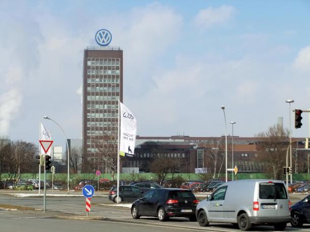 フォルクスワーゲン本社=2013年3月、独ウォルフスブルク市