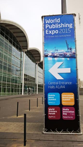「世界出版エキスポ」はハンブルグメッセで開催された