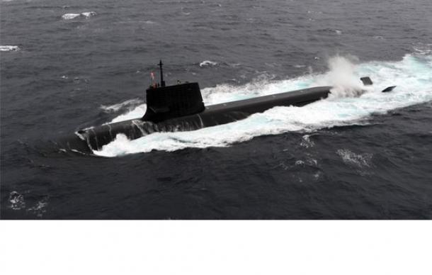 豪州への輸出が検討されている「そうりゅう型潜水艦」(海上自衛隊ホームページから)