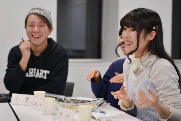 千葉泰真さん(左)と今村幸子さん