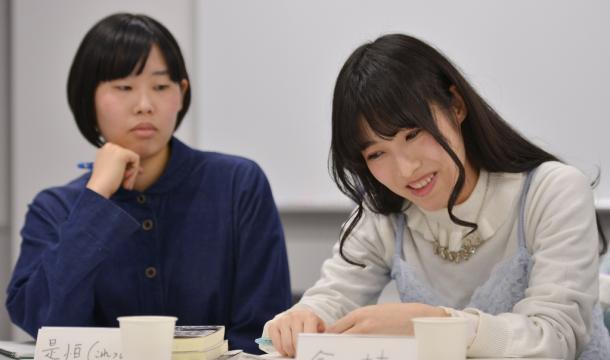 是恒香琳さん(左)と今村幸子さん