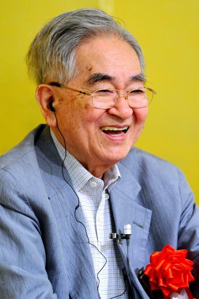 鶴見俊輔さん=2009年、京都市