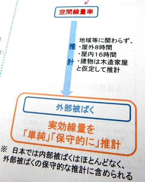 2013年6月17日の会議資料から。従来の日本の推計手法を「単純」「保守的」と評価している
