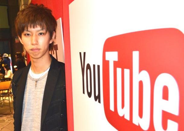 YouTubeのイベントに出演したはじめしゃちょーさん