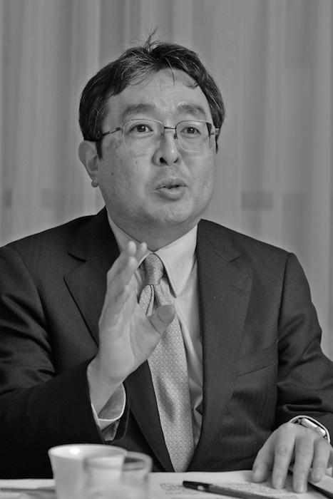 堤和彦・日本経済新聞社総務局人事・労務部担当部長(吉永考宏撮影)