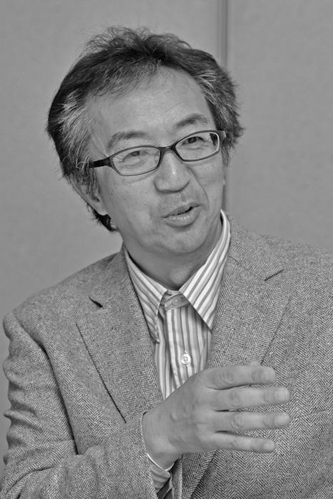 水島宏明・ジャーナリスト・法政大学社会学部教授=司会(吉永考宏撮影)
