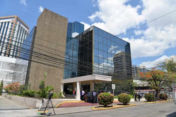 モサック・フォンセカが入るパナマ市内のビル