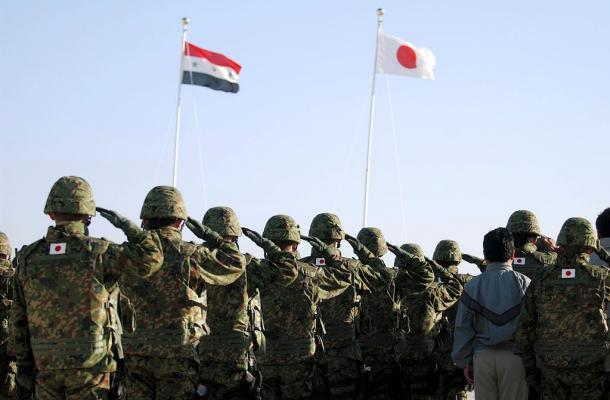 イラク・サマワの陸上自衛隊宿営地