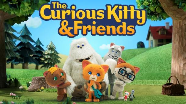 『The Curious Kitty & Friends(原題)』メインヴィジュアル