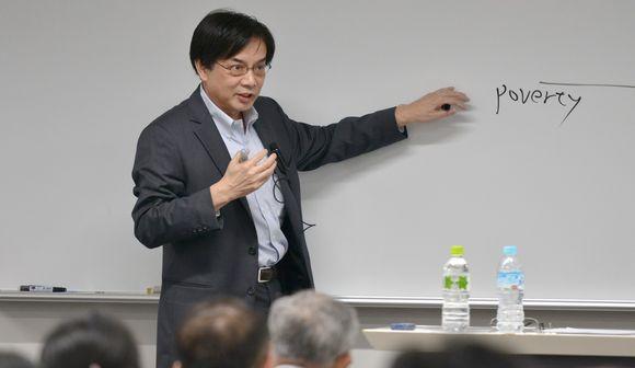 写真・図版:立憲デモクラシー講座・齋藤純一教授