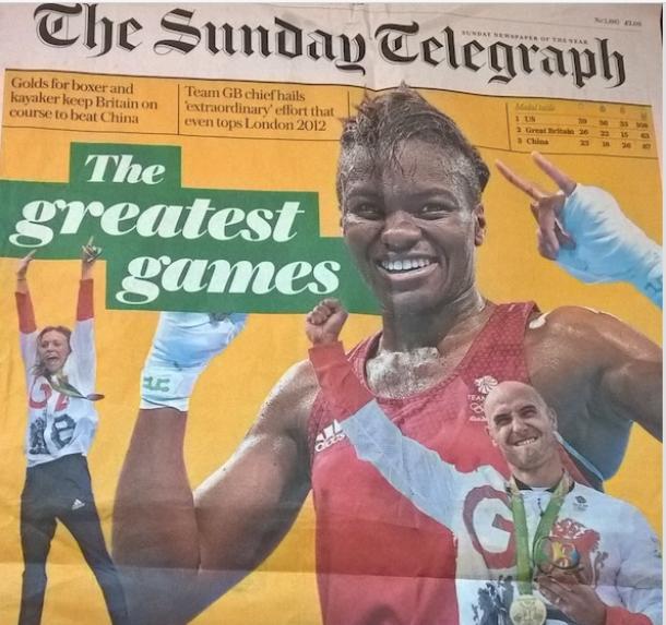 「金メダル数で中国を抜いた」と歓喜する英国