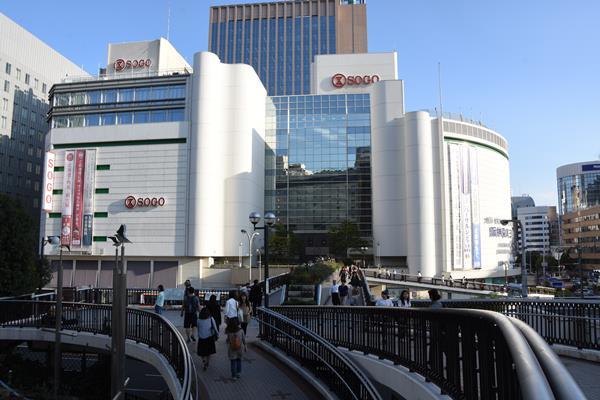 いまはセブン&アイ傘下のそごう神戸店。H₂Oに引き継がれる=2016年10月6日、神戸市中央区