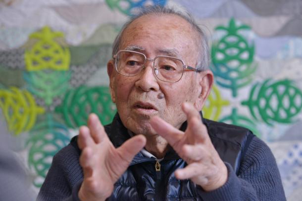 原寿雄さん