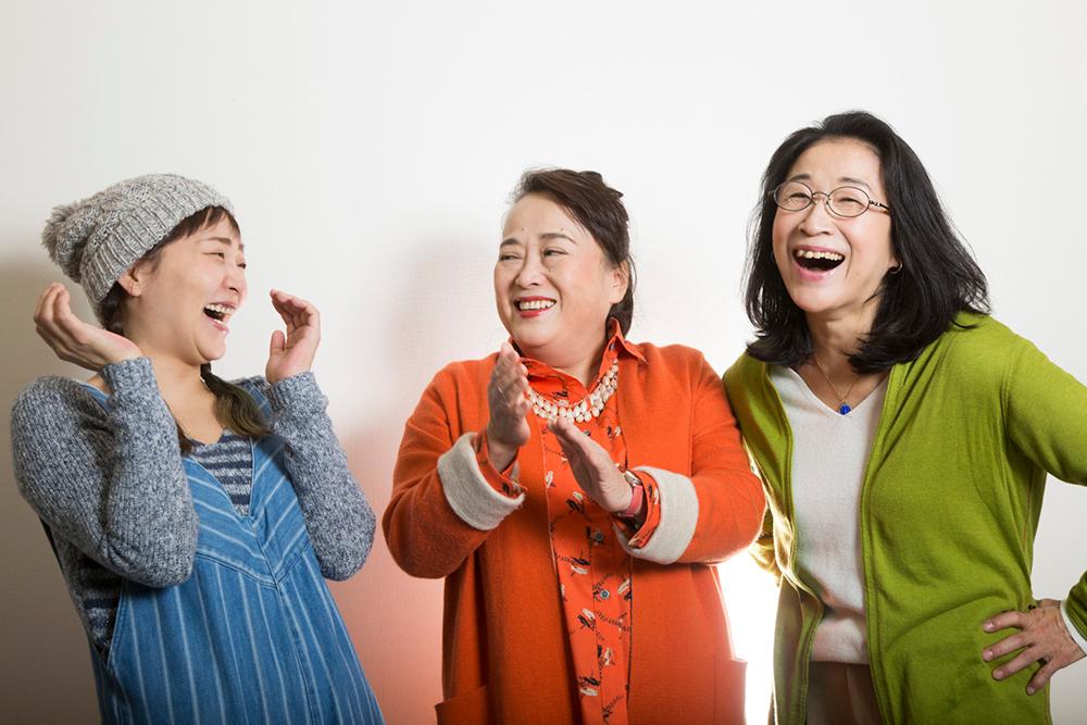 渡辺えり×木野花×桑原裕子が情熱的に語る(下)