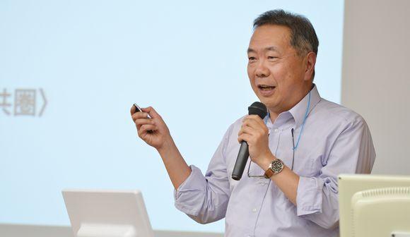 写真・図版:立憲デモクラシー講座・石田英敬教授