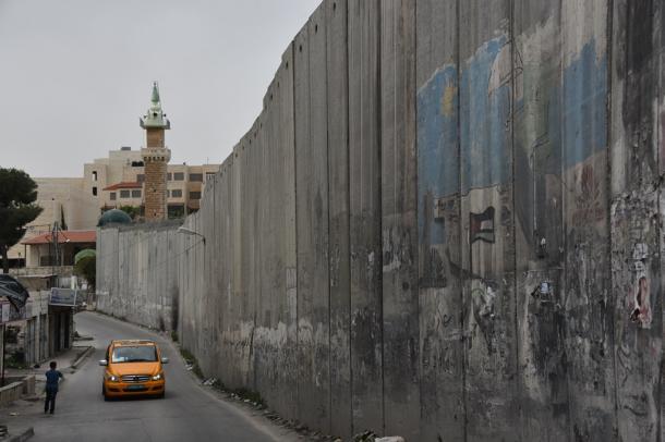 エルサレム近郊の分離壁