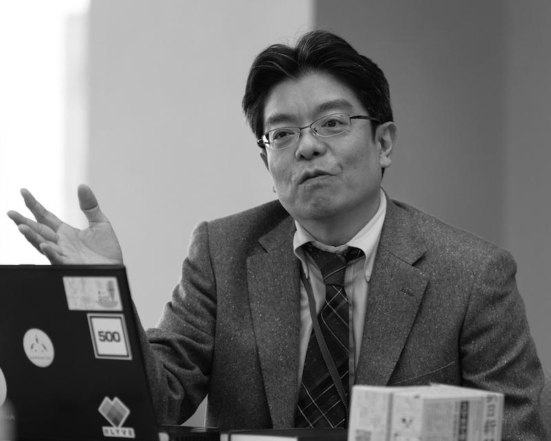 堀江隆・朝日新聞社メディアラボ室長(吉永考宏撮影)