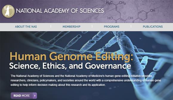 写真・図版:ゲノム編集を受精卵に応用する是非