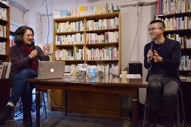 新城カズマさん(左)と木村草太さん