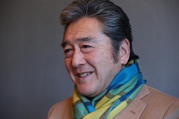 映画「仁義なき戦い」などに出演した松方弘樹さん=2014年12月15日、東京都港区