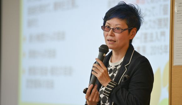 写真・図版:立憲デモクラシー講座・岡野八代教授