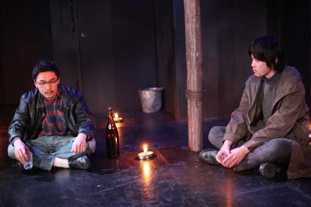 赤軍派の植垣康博と進藤隆三郎が星空の下で語り合うシーンは印象的