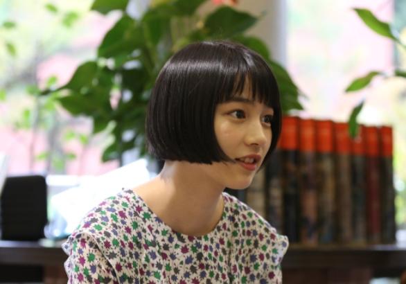 アニメ「この世界の片隅に」で主演声優を務めたのん=2016年10月21日、広島県呉市