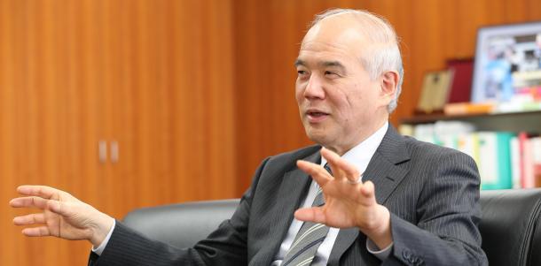 日本学術会議会長の大西隆さん