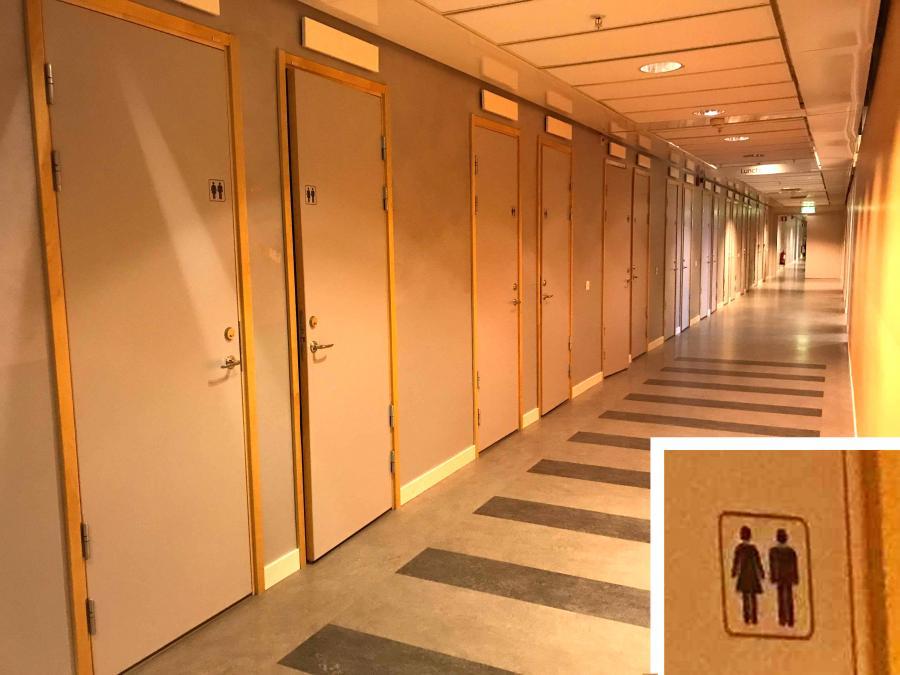 男女共用トイレに関して日本の知識は誤解だらけ