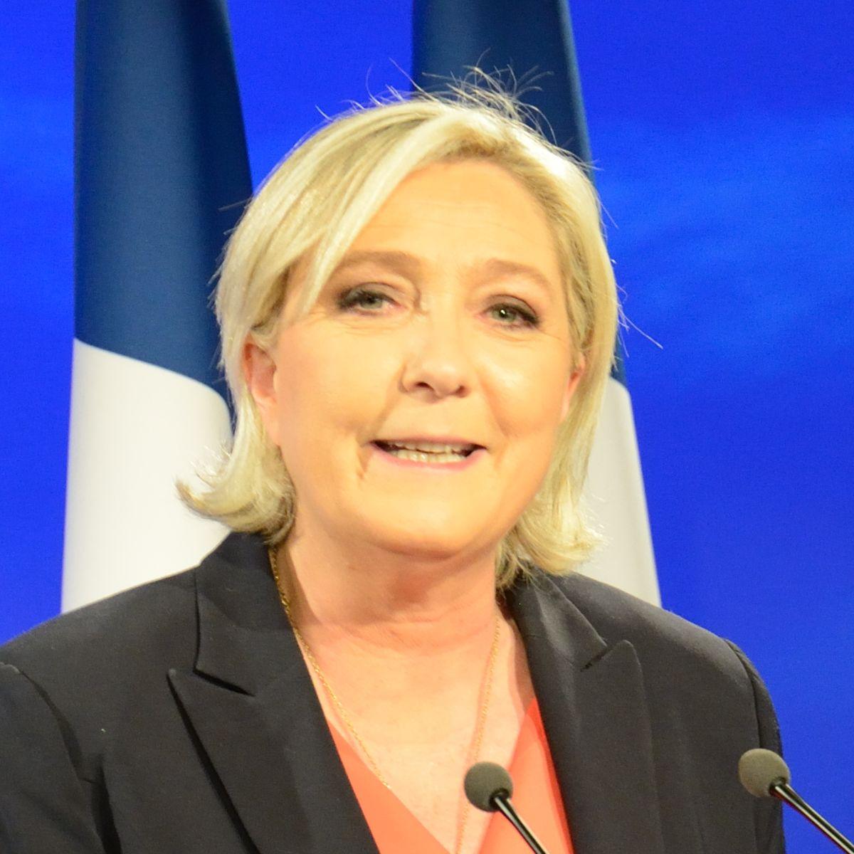 FNのマリーヌ・ルペン党首