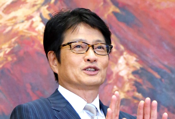 常務から社長への昇格が決まり抱負を語るフジテレビの亀山千広氏=2013年5月20日、東京都港区