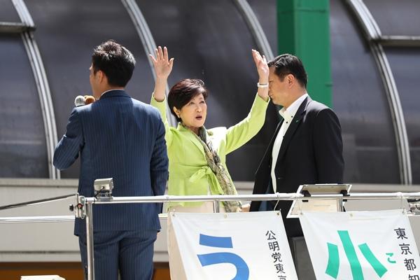 百合子ファースト演説会のすごさをレポート(上)