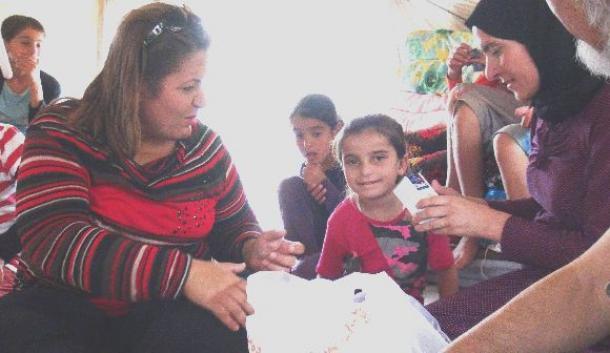 イスラム国から解放された子どもたちよ