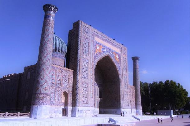 [6]ウズベキスタンの「青の都」から正倉院へ
