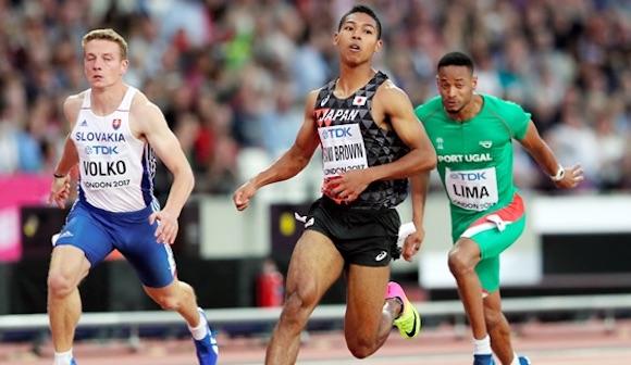 写真・図版:世界陸上男子100m、日本勢の快挙と悔恨