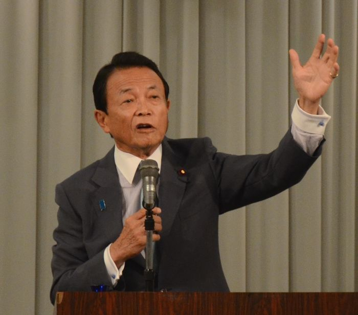 責任を追及されるべき麻生氏の「武装難民」発言