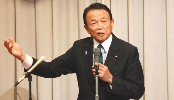 写真・図版:麻生太郎氏「難民射殺」発言、その真意は?
