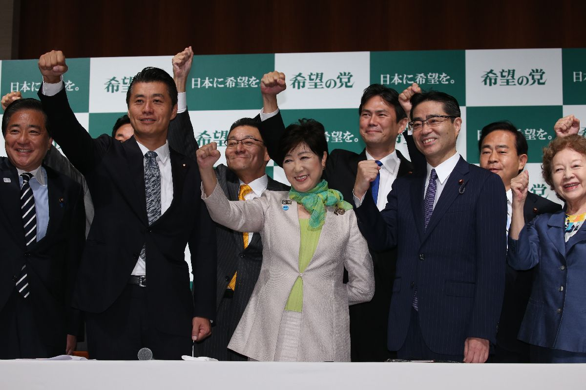 小池氏頼りの限界を露呈した希望の党