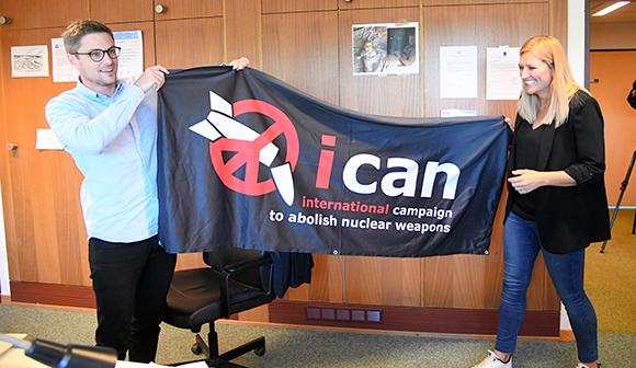 核軍縮運動にノーベル平和賞