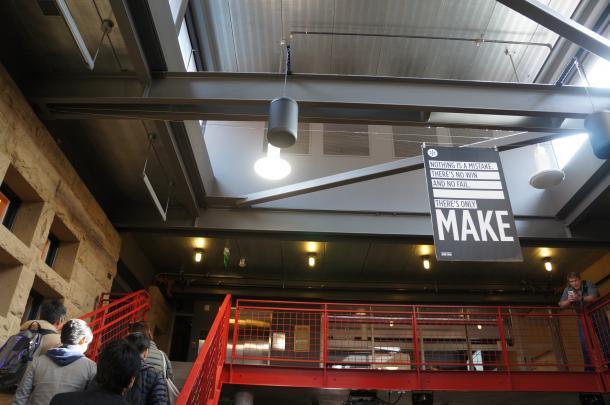 スタンフォード大学dスクール=2017年1月、米国で木村優紀子撮影