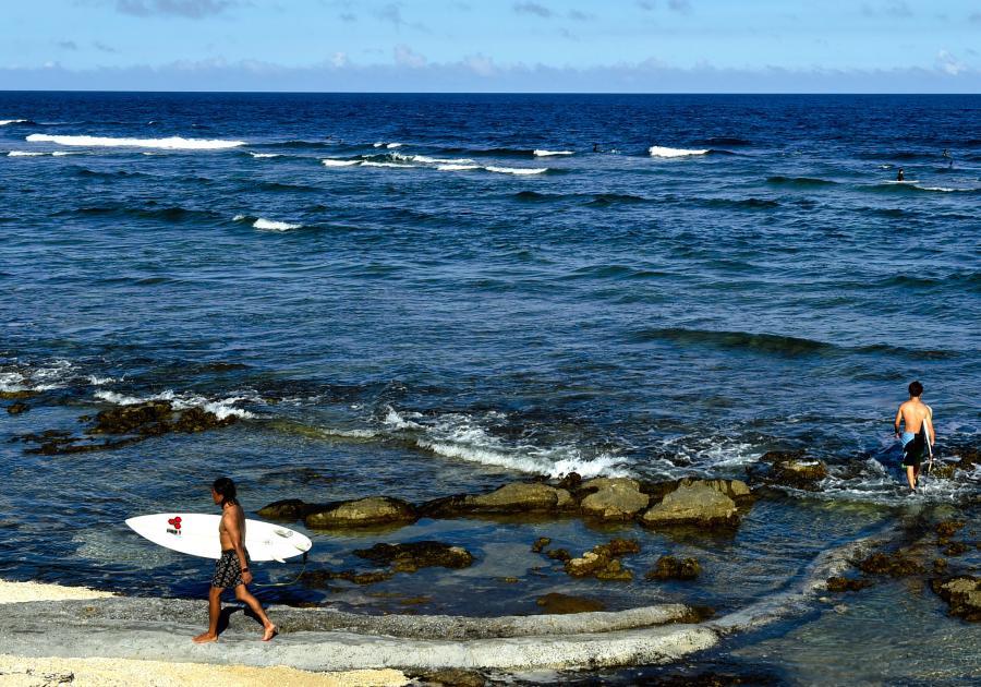 島々の未来を左右する地球温暖化問題