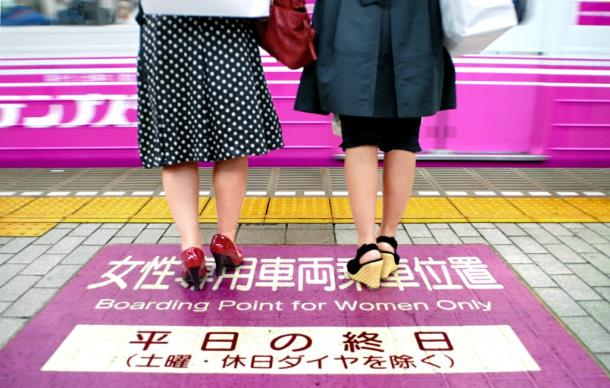 女性専用車両は差別だと女性を脅かすのは筋違い