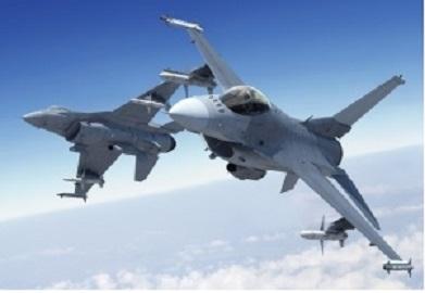 写真・図版 : ロッキード・マーチン社が生産した戦闘機F16ファイティングファルコン=同社HPより