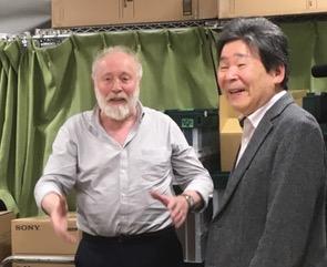 写真・図版 : 「ユーリー・ノルシュテイン監督公開講座」(東京藝術大学車道校舎)にて=2016年10月29日、撮影・筆者